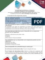 Guía para el desarrollo del componente práctico - INVIL