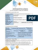 Guía de Actividades y Rúbrica de Evaluación - Fase 6 - Analizar e Identificar Los Pros y Contra en La Elaboración y Resultado de Su Audiovisual
