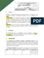 PRC-SST-013 Procedimiento para la Investigación de Incidentes, Accidentes y Enfermedades Laborales (1).docx