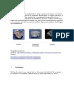 piedras y minerales