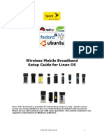Sprint Mobile Broadband Setup Guide for Linux 1.4.1