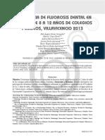 (23) PREVALENCIA DE FLUOROSIS DENTAL