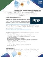 Anexo C - Guía para el laboratorio presencial 3 - Momento 3