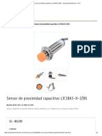 Sensor de proximidad capacitivo LJC18A3-H-Z_BX - Naylamp Mechatronics - Perú