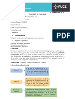 DETERMINACIÓN DE LA CONSTANTE DE EQUILIBRIO