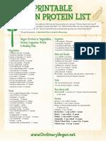 Vegan-Protein-List-Downloadable