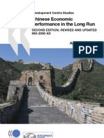 The Chinese Economic Performance in the Long Run 2nd Edtion Updated 960-2030 AD