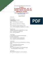 III Conferencia General del Episcopado Latinoamericano Resumen de Puebla