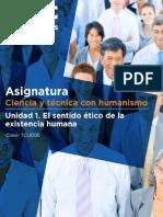 Unidad 1. El Sentido Ético de La Existencia Humana
