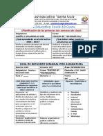 TERCERO INF - DISEÑO Y DESARROLLO WEB- SEMANA 1