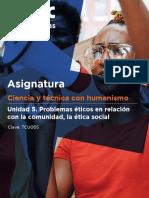 Unidad 5. Problemas Éticos en Relación Con La Comunidad, La Ética Social