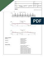 RC beam analysis & design (BS8110)