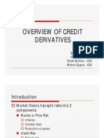 Overview of Credit Derivatives