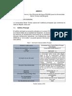 Anexo I -  Programa de Ahorro y Uso Eficiente del Agua