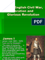 The English Civil War Restoration and Glorious.ppt