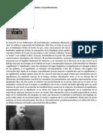 Introducción, el postestructuralismo y el posfeminismo