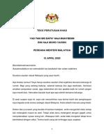 Teks Perutusan Khas YAB PM - 10042020.pdf.pdf