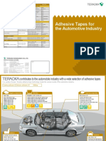 Teraoka Adhesive Tapes for the Automotive Industry
