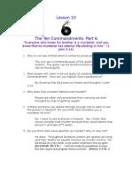 SOBE Lesson 10