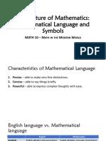 2 - Mathematical Language and Symbols (no video) (1)