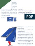 Parapad-Manual