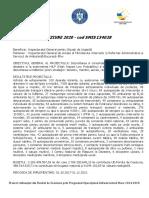 Descriere Proiect VIZIUNE2020