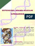 Biologia molecolare lezione introduttiva scuole