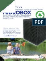 HIDROSTANK HIDROBOX Systèmes Drainage