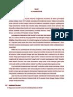 contoh makalah survei lapangan ; PASAR