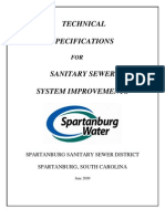 001 Sewer Technical Specs