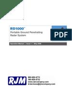 GPR Ground Penetrating Radar Manual