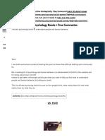 Best Psychology Books + Free Summaries (Updated 2020).pdf
