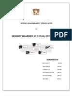 Retail Paper on Sensory Marketing
