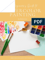 How to Start with Watercolor Painting Guide