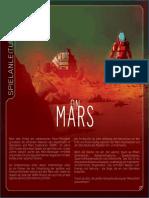 Spielanleitung on Mars auf deutsch