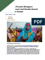 protecting female refugees