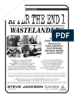 GURPS After the End 1 - Wastelanders