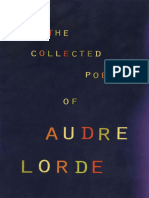 Collected Poems of Audre Lorde, The - Audre Lorde