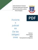 ACCIONES DE PROTECCIÓN DEL CRÉDITO -Rubenrammstein