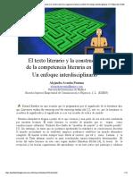Alejandra Aventín Fontana_ El texto literario y la construcción de la competencia literaria en E_LE