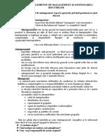6. Elemente de management si gestionarea problemelor