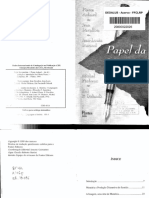 Pierre Achard, Jean Davallon, Jean-Louis Durand, Michel Pêcheux, Eni P. Orlandi_ tradução José Horta Nunes. - Papel da memória-Pontes (1999).pdf