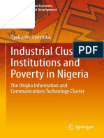 (Advances in African Economic, Social and Political Development) Oyebanke Oyeyinka (auth.) - Industrial Clusters, Institutions and Poverty in Nigeria_ The Otigba Information and Communications Technol