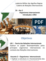 ORGANISMOS INTERNACIONAIS 2020