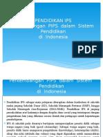 Perkembangan  PIPS  dalam  Sistem  Pendidikan