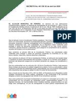 DECRERO 401 3 ABRIL 2020.pdf