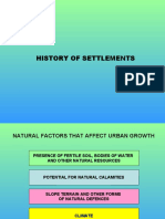 History of Urban Settlements.ppt
