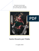 Rosario Italia Pompei 15-04-2020