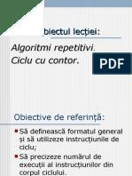 prezentare algoritmi repetitivi