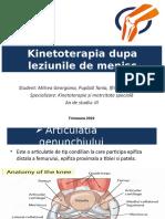 Kinetoterapia dupa leziunile de menisc (1).pptx